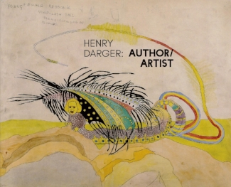 Henry Darger catalog cover titled Author/Artist