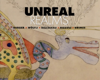 Catalog cover titled Unreal Realms
